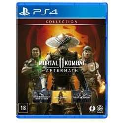 Game – Mortal Kombat 11: Aftermath Br – PS4