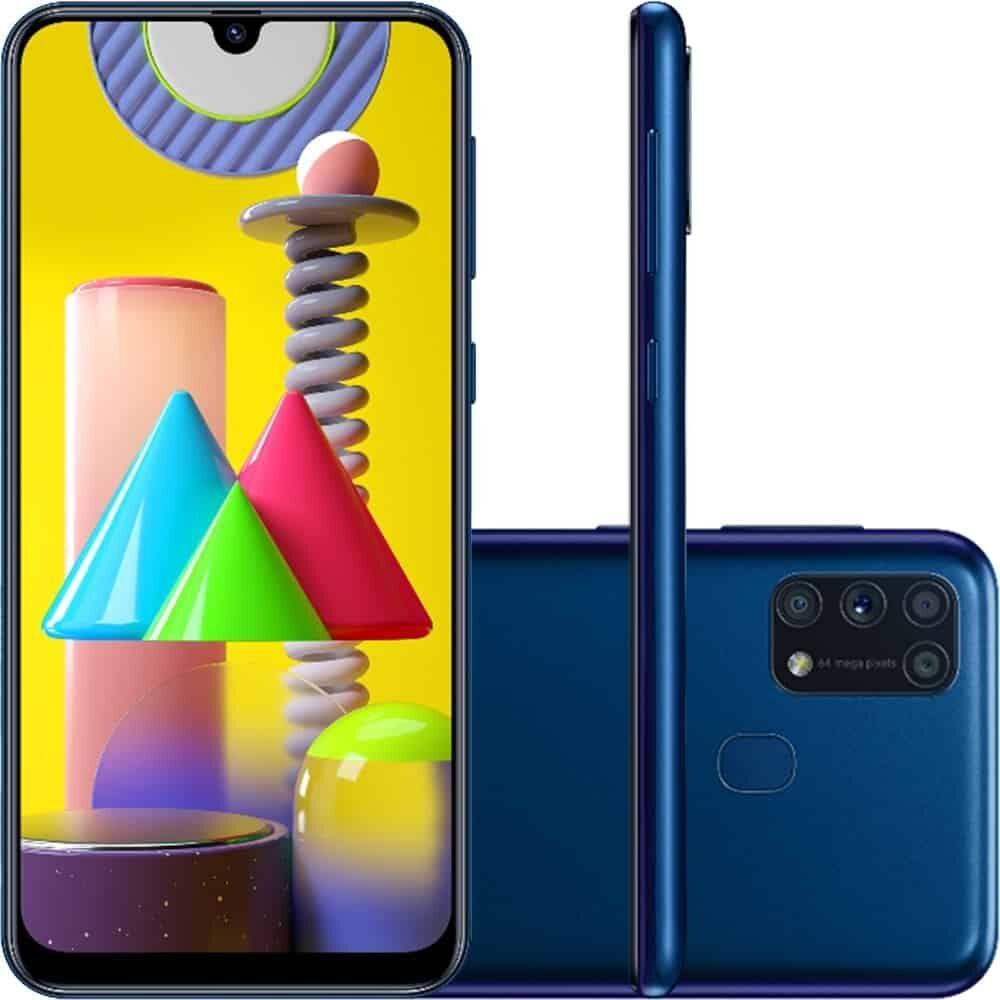 Smartphone Samsung Galaxy M31 – Azul
