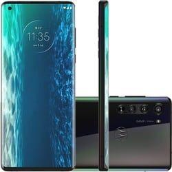 Smartphone Motorola Edge 128 GB Dual Chip Android 10 6.7″ Qualcomm Snapdragon 5G Câmera 64MP + 16MP +8MP – Solar Black