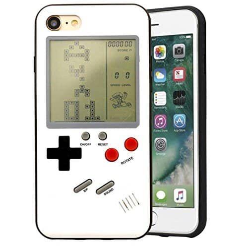 Capa para iPhone 7 Bangcool Tetris Capa para celular Gameboy fina protetora para iPhone 7 iPhone 8