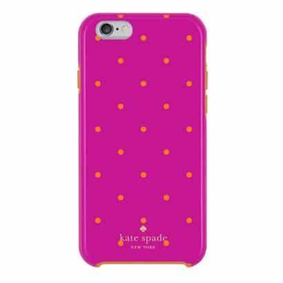 Capa para iPhone 6 / 6s, Rosa, Hybrid Hard Kate Spade