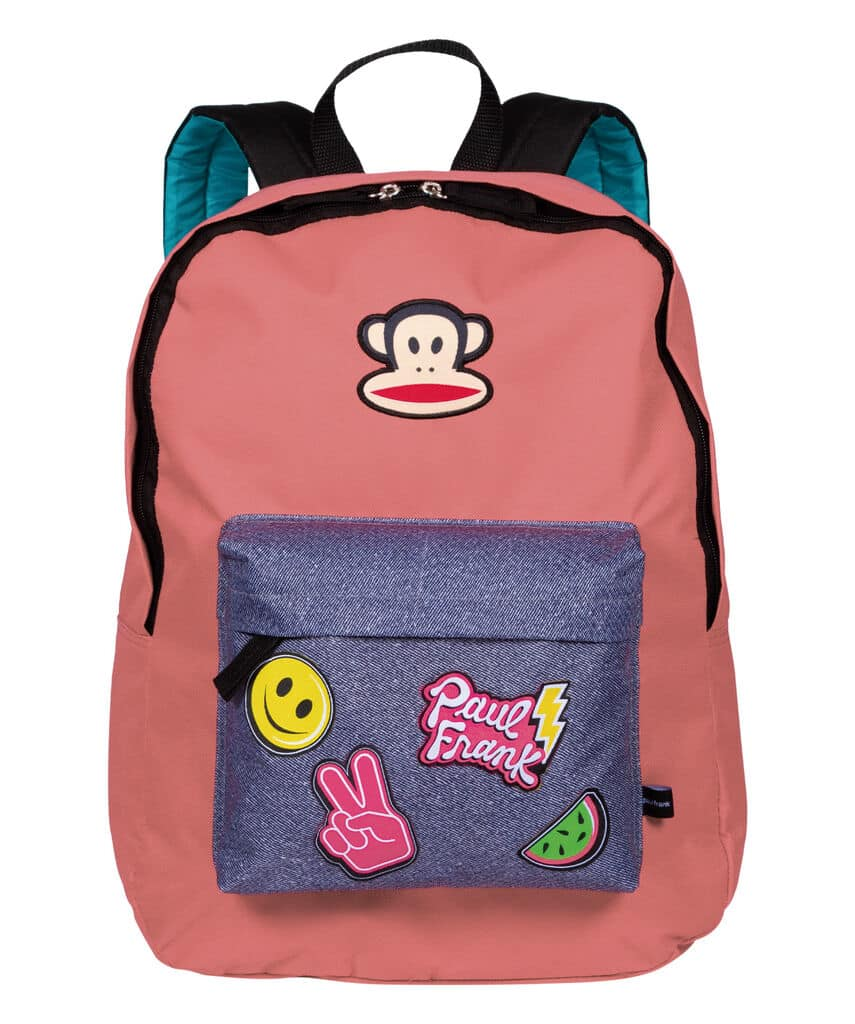 Mochila Grande Paul Frank 20T01 Patches