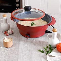 Panela Elétrica Multicooker Vermelho  – Fun Kitchen