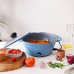 Panela Elétrica Multicooker Azul  – Fun Kitchen