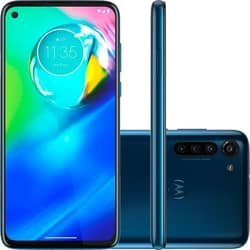 Smartphone Motorola Moto G8 Power 64GB Dual Chip Android 6,4″ Qualcomm Snapdragon 665 (SM6125) 4G Câmera Traseira 16MP + 8MP + 2MP Filmadora 4K – Azul Atlântico