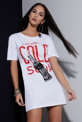 Vestido t-shirt