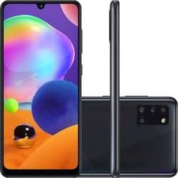 Smartphone Samsung Galaxy A31 Dual Chip Android 10 Tela 6.4″ Octa-Core 128GB 4G Câmera Quádrupla 48MP+8MP+5MP+5MP – Preto