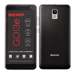 Smartphone SEMP GO3e 8GB Preto 3G Câmera 8MP 5.0 8MP + 5MP