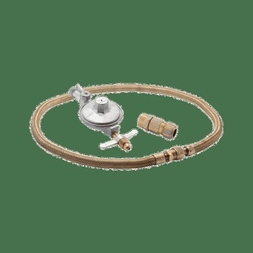 Kit Instalação Gás GLP de Botijão para Fogão/Cooktop e Forno de Embutir com Regulador