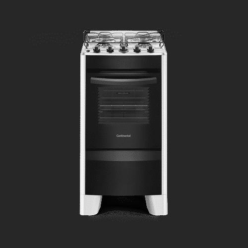 Fogão 4 Bocas Automático Branco com Mesa Compartimentada (FC4CB) – Bivolt