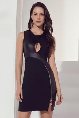 Vestido curto justo