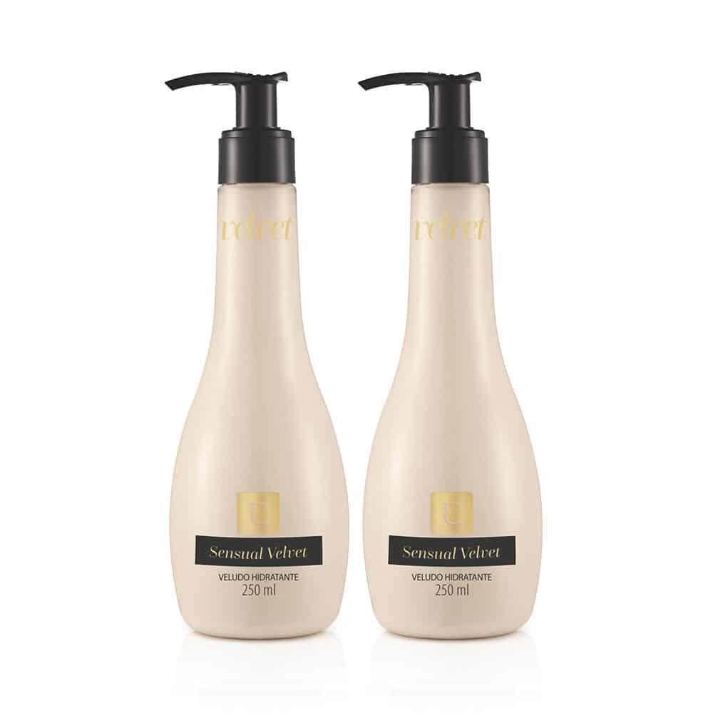 Kit Loção Desodorante Hidratante Sensual Velvet: 2 Unidades