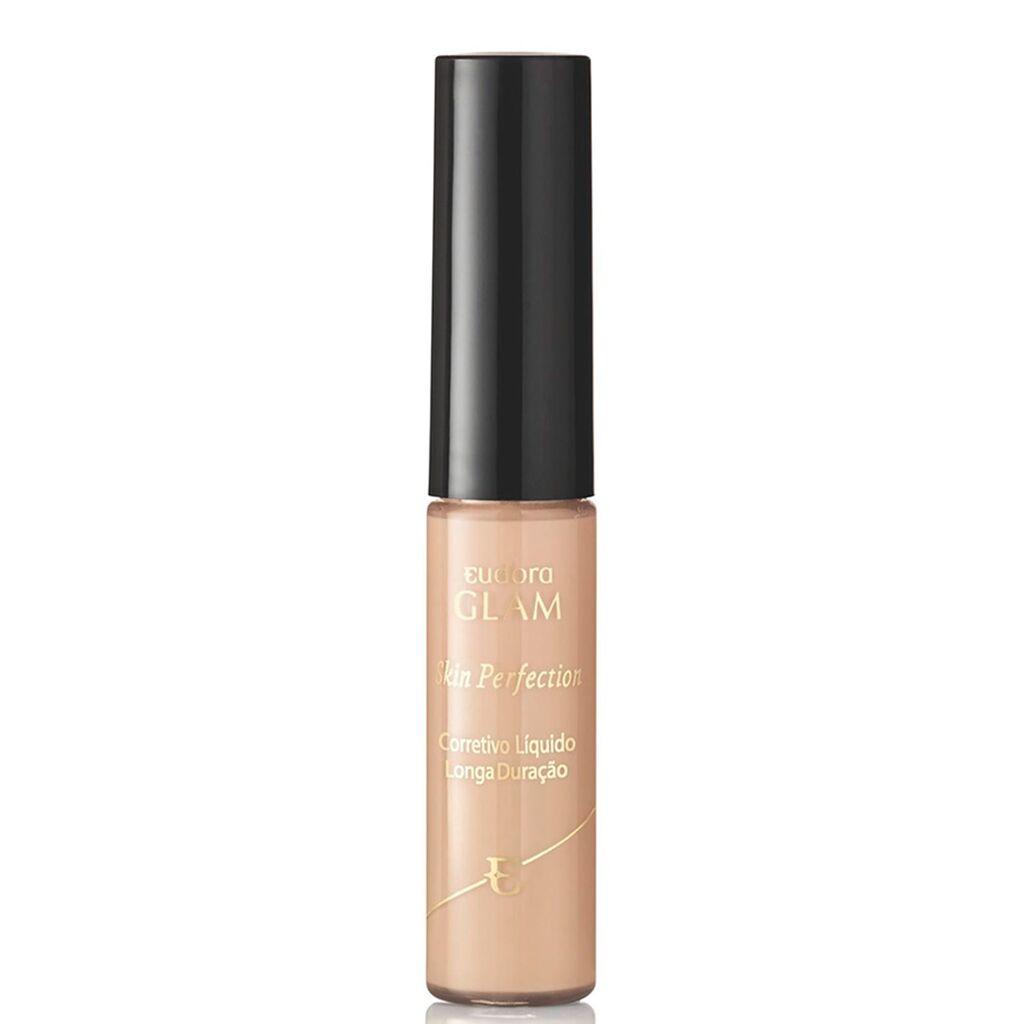 Corretivo Líquido Longa Duração Glam Skin Perfection Bege 6,4ml