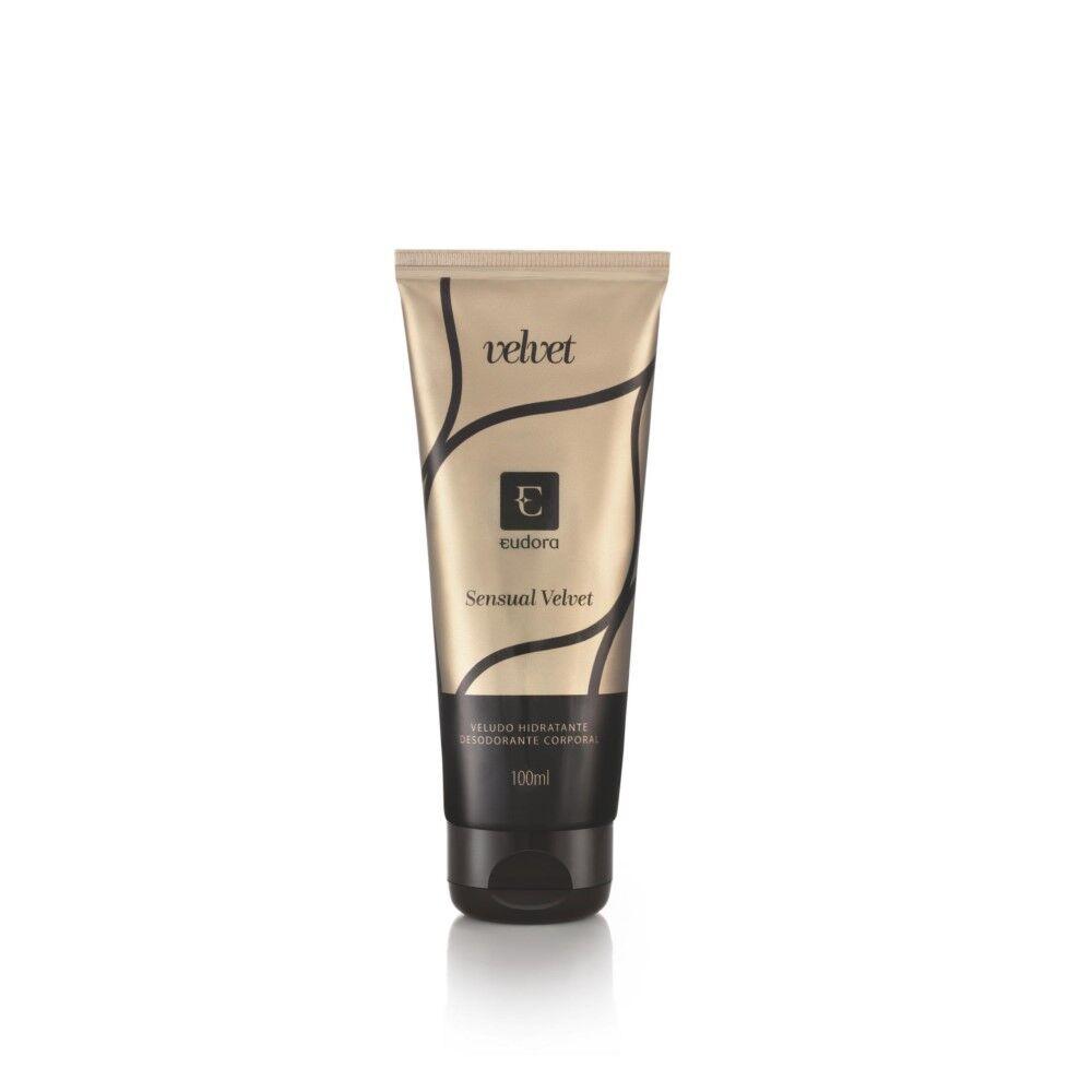 Loção Corporal Desodorante Hidratante Sensual Velvet 100ml