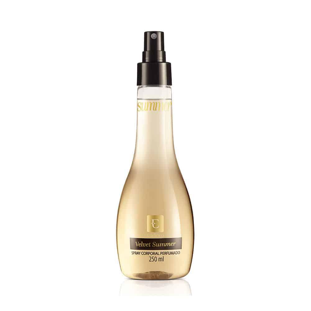 Deo Colônia Spray Corporal Perfumado Velvet Summer 250ml