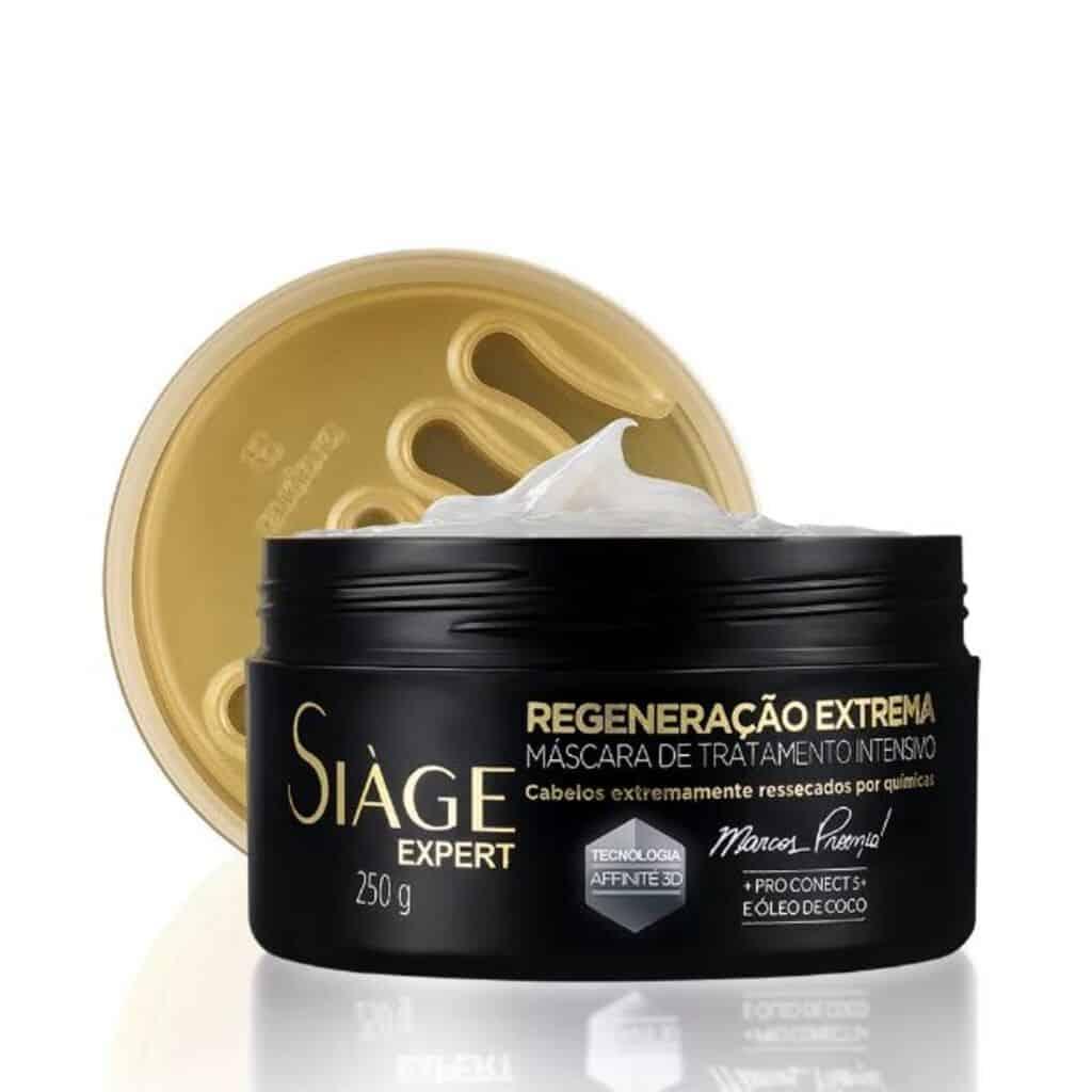 Máscara Capilar Siàge Regeneração Extrema Tratamento Intenso 250g
