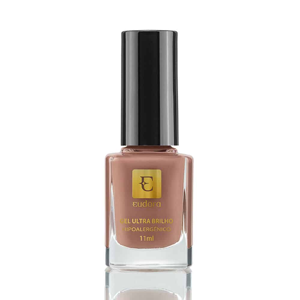 Esmalte Gel Ultra Brilho Taupe Exclusivo 11ml