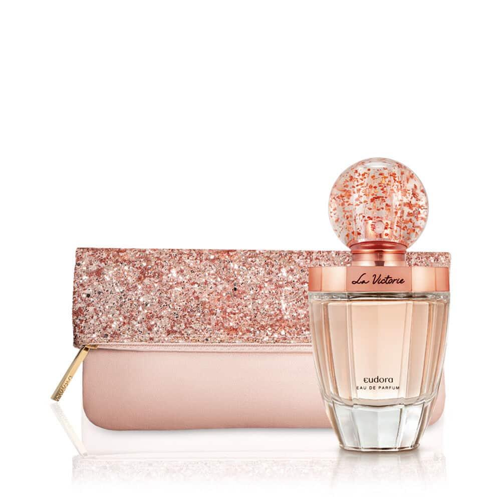 Kit La Victorie Eau de Parfum + Clutch