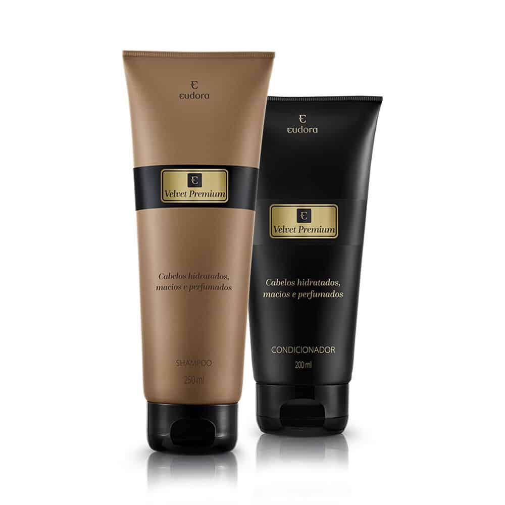 Kit Cabelos Velvet Premium Shampoo + Condicionador