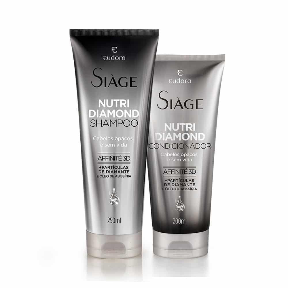 Kit Siàge Nutri Diamond: Shampoo + Condicionador