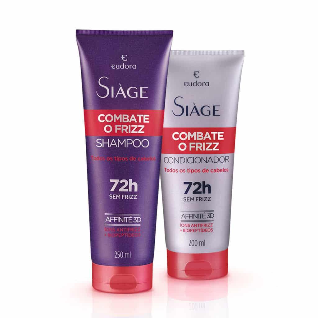 Kit Siàge Combate O Frizz Shampoo + Condicionador