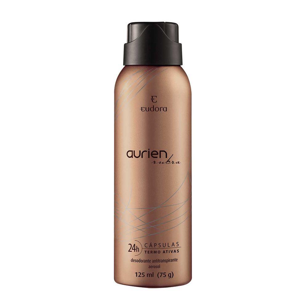 Desodorante Antitranspirante Aerosol Aurien Rubra 125ml