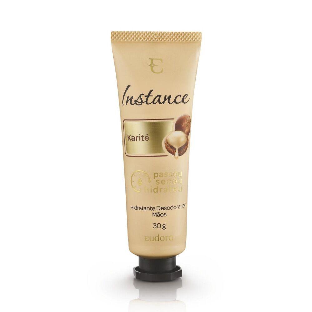 Creme Desodorante Hidratante Mãos Instance Karité 30g