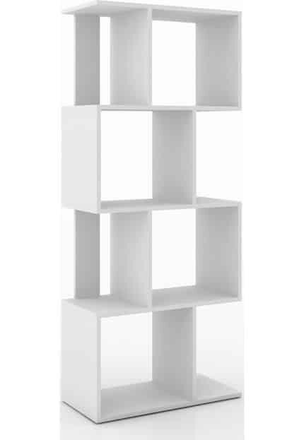 Estante/ Rack Retrô Móvel Bento Branco