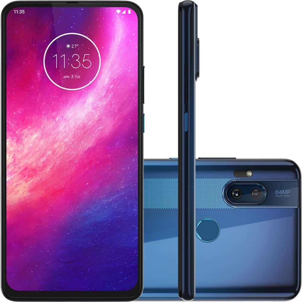 Smartphone Motorola One Hyper 128GB – Azul Oceano com R$ 299,85 de Cashback