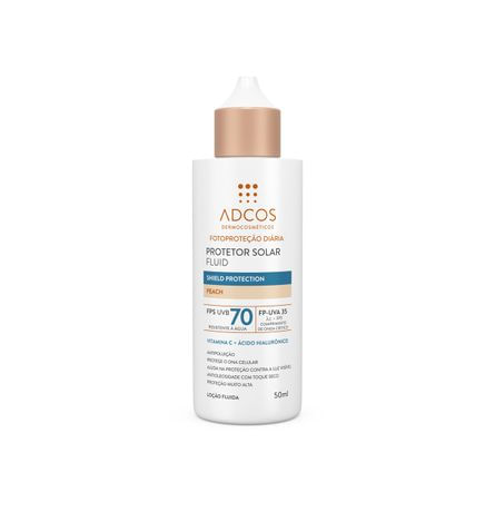 Protetor Solar Fluid Shield Protection FPS 70 Colors Peach - 50ml