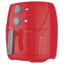 Fritadeira Sem Óleo 3,2L Cadence Super Light Fryer Colors Vermelha