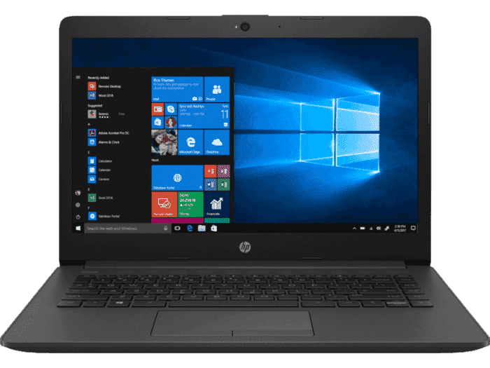 R$100 OFF no Notebook HP 246 G7 Processador i3-8130U 14 polegadas 4GB HD 256 SSD Windows 10 HOME