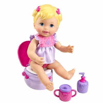Boneca Little Mommy – Peniquinho – Vestido Lilás – Mattel