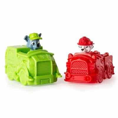 Mini Veículos – Patrulha Canina – Pack com 2 Carrinhos – Marshall e Rocky – Sunny