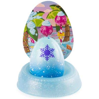 Mini Figura Surpresa e Acessórios – Hatchimals Colleggtibles – Mostre Seu Brilho – Azul – Sunny