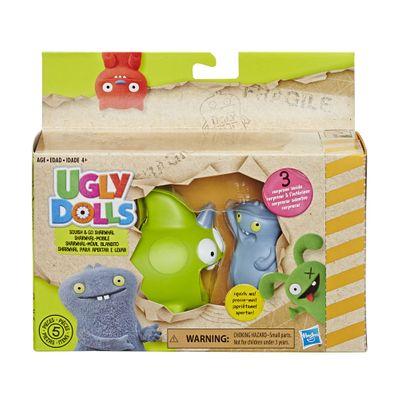 Figura e Veículo – Uggly Dolls – Babo e Sharwhal – Hasbro