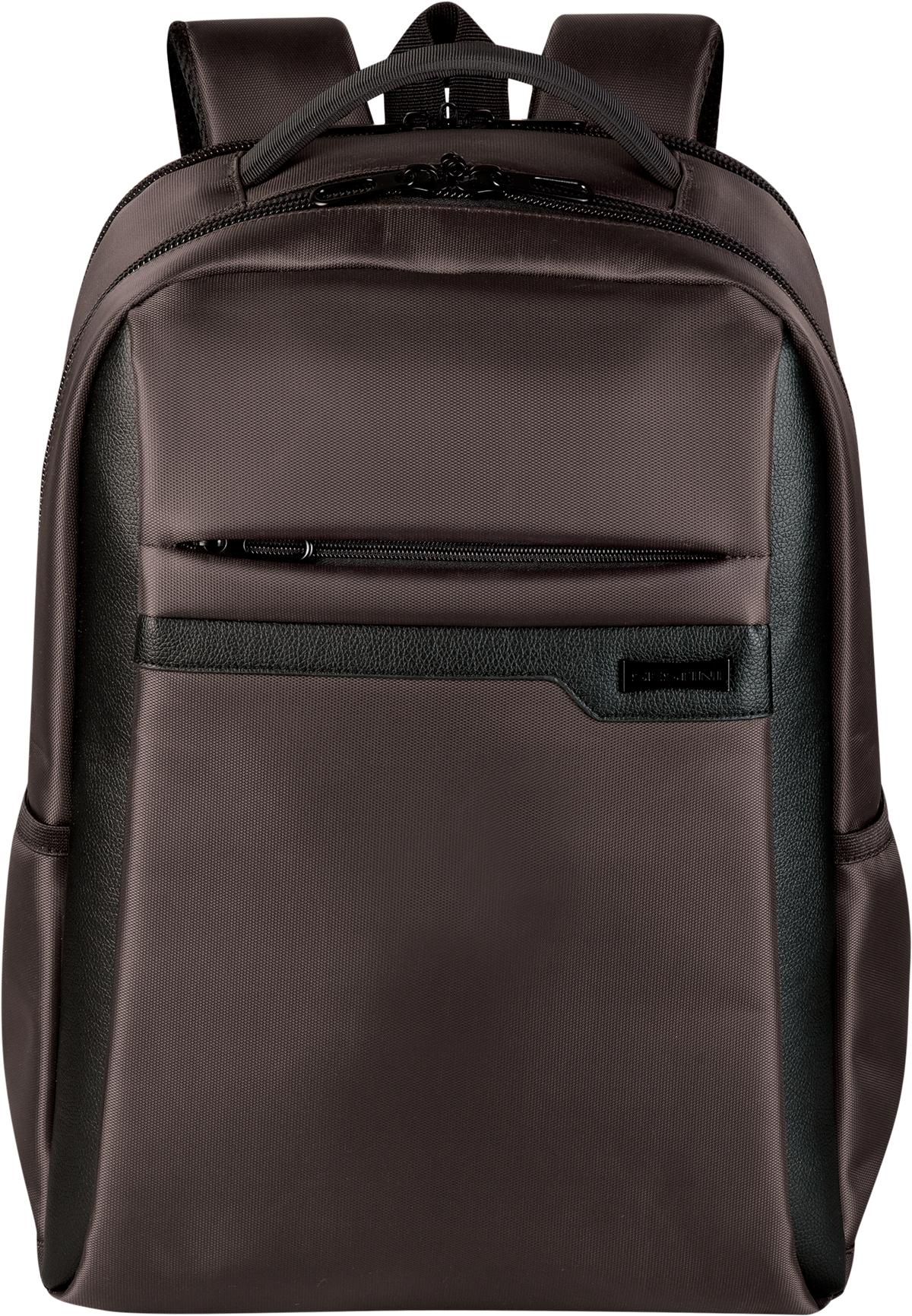 Mochila Grande 2 Compartimentos Laptop Sestini Prime Marrom