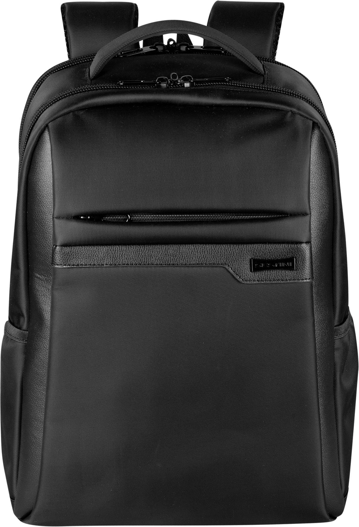 Mochila Grande 2 Compartimentos Laptop Sestini Prime Preto