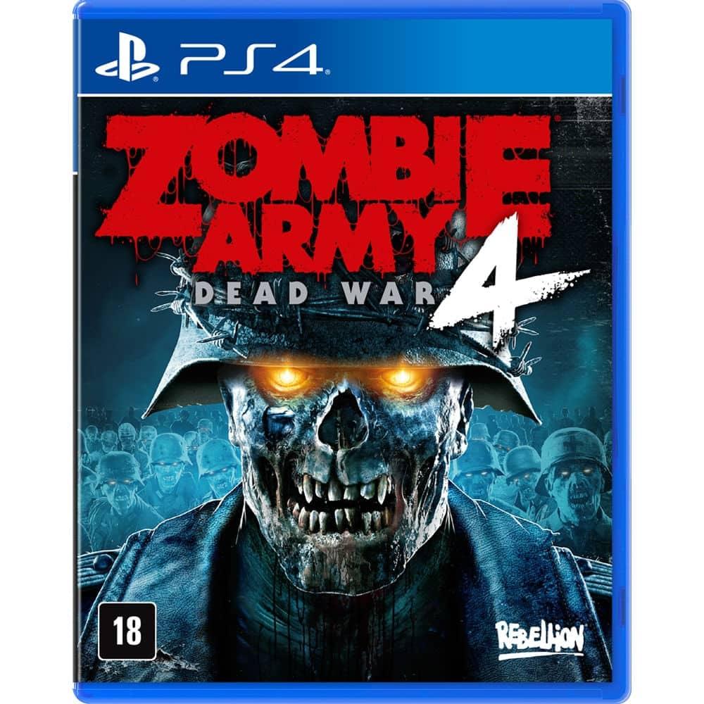 JOGO ZOMBIE ARMY 4: DEAD WAR – PS4 Por:R$ 179,00