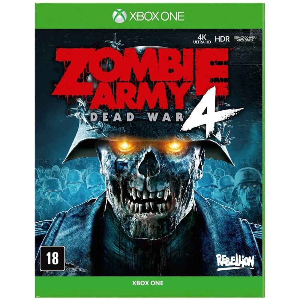 JOGO ZOMBIE ARMY 4: DEAD WAR – XBOX ONE por R$ 179,00